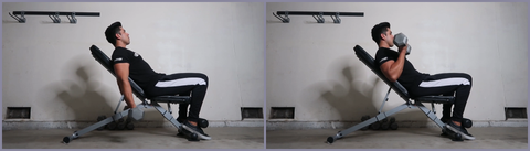 ritfit adjustable bench workout