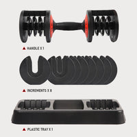 adjustable dumbbell cheap