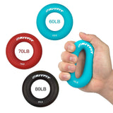 RitFit 3-in-1 Colorful Hand Strengthener Grip Rings|RitFit Fitness RitFit 60-80 Lbs