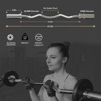 olympic curl bar