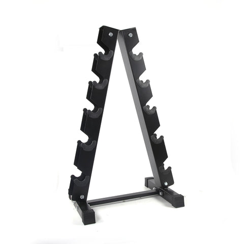 RitFit A-Frame Dumbbell Rack Stand 3 OR 5 Pairs Weight Rack | Home Gym Dumbbells Storage RitFit 5-Pair Rack