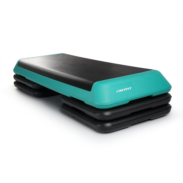 RitFit Aerobic Step Platform | Home Cardio Equipment For All Fitness Levels RitFit Blue