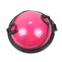 RitFit Balance Ball, Bosu Ball with Resistance Bands - Free Workout Resources! RitFit Pink