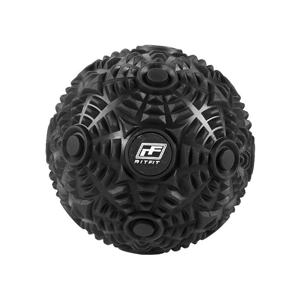RitFit Deep Tissue Massage Ball Workout Accessories RitFit Black
