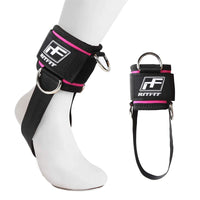 RitFit Fitness Padded Ankle Strap for Cable Machine RitFit PINK single