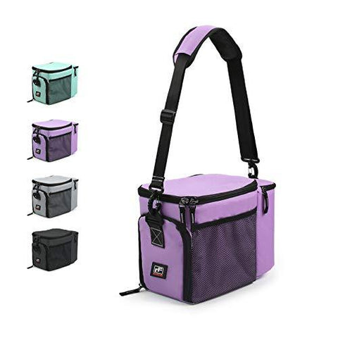 purple insulated lunch box