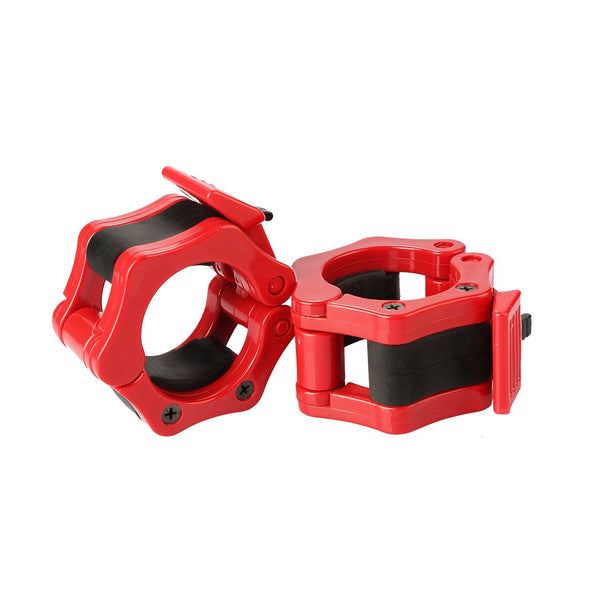 Ritfit Olympic Barbell Clamp (Pair of Two) RitFit Red