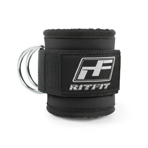 Ritfit Sport Ankle Strap (Pack of 1) RitFit Black