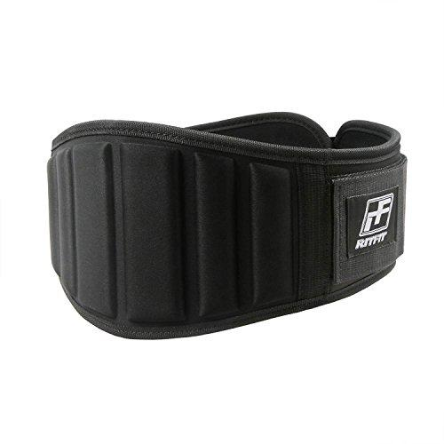 "RitFit Super Supportive Weightlifting Belt RitFit L(37-43"") Black"
