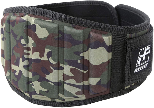 "RitFit Super Supportive Weightlifting Belt RitFit S(22-29"") Camo"