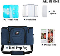 RitFit Upgraded 3 Meal Prep Bag for Adults RitFit