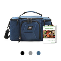 RitFit Upgraded 3 Meal Prep Bag for Adults RitFit Blue