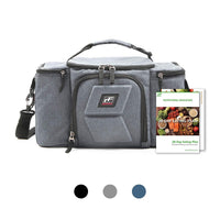 RitFit Upgraded 3 Meal Prep Bag for Adults RitFit Grey