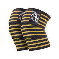 RitFit Weightlifting Knee Wraps Workout Accessories RitFit Orange