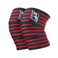 RitFit Weightlifting Knee Wraps Workout Accessories RitFit Red