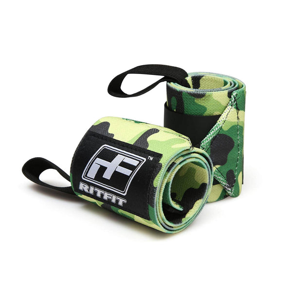 RitFit Wrist Wrap Weight lifting RitFit Green