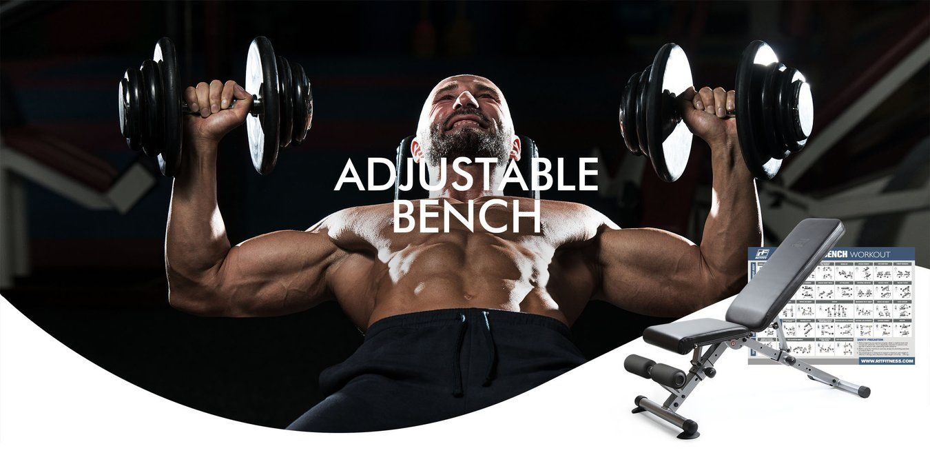 The RitFit Ultimate Adjustable Bench is a delightful addition to any workout space, the bench offers ultimate convenience and durability to help reach your fitness goal in the comfort of your own home!