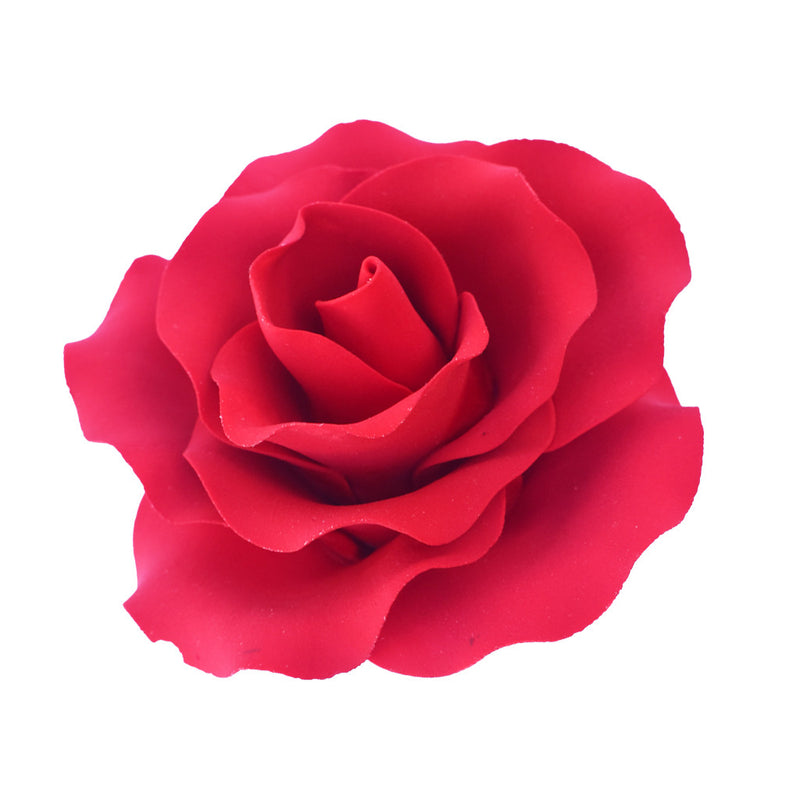 Large Edible Red Rose