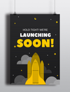 Launching Soon Poster