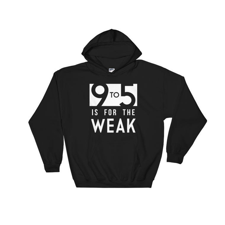 9 To 5 Hooded Sweatshirt