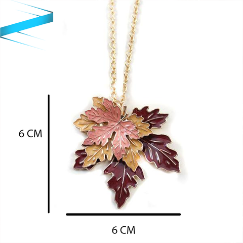 Image of Maple Leaf Necklace