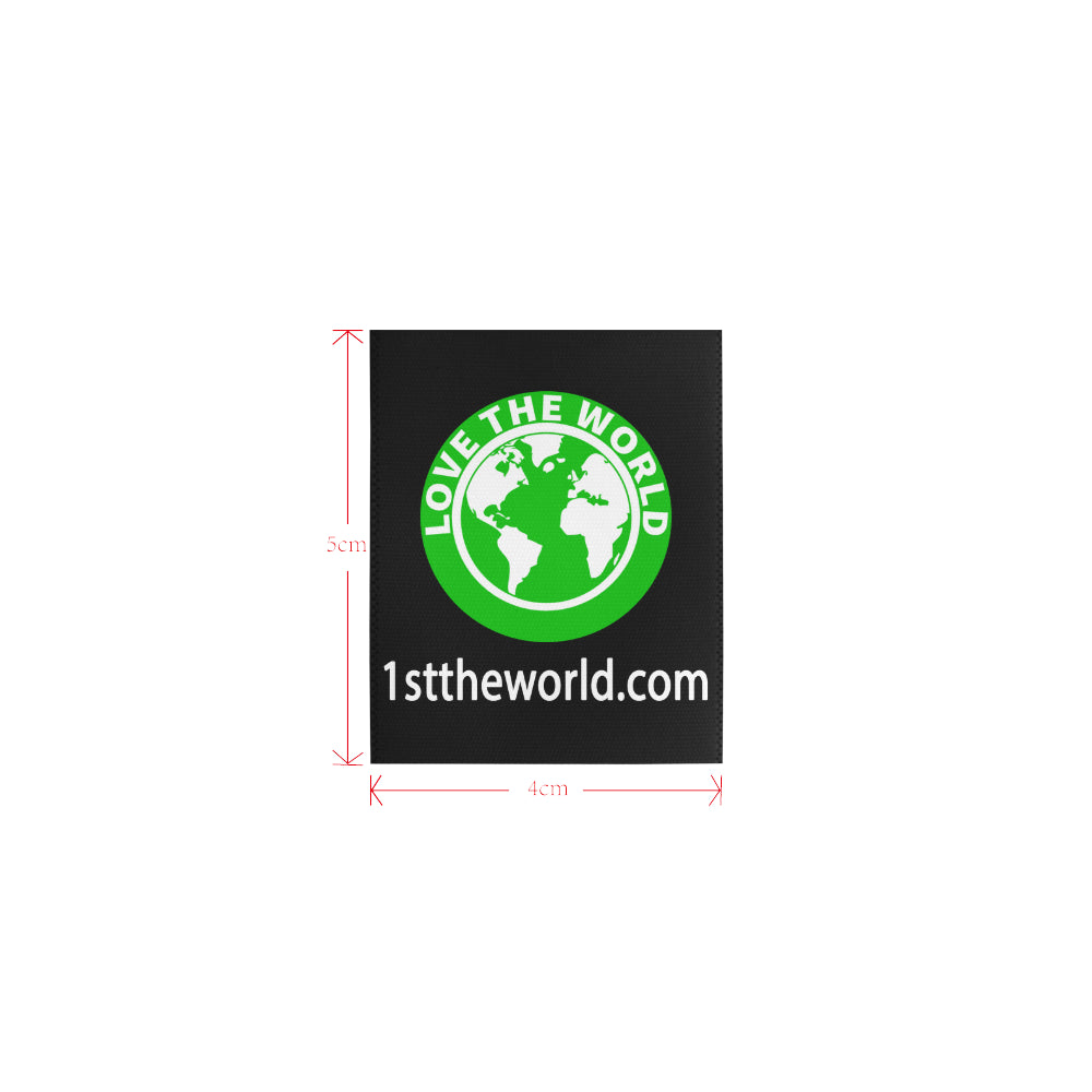 1sttheworld logo Private Brand Tag on Tops (4cm X 5cm)
