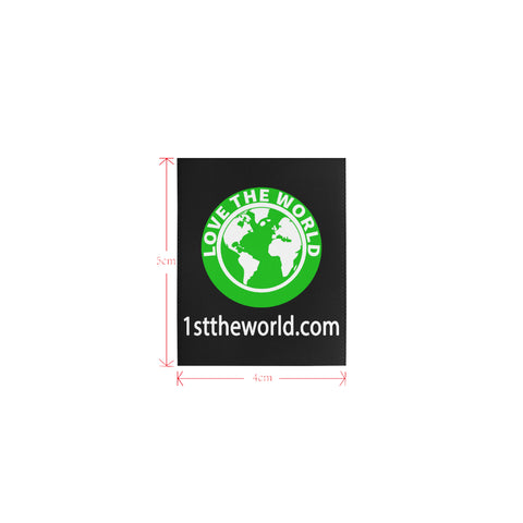 Image of 1sttheworld logo Private Brand Tag on Tops (4cm X 5cm)