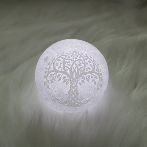 Celtic Tree Of Life Moon Lamp - Special Product