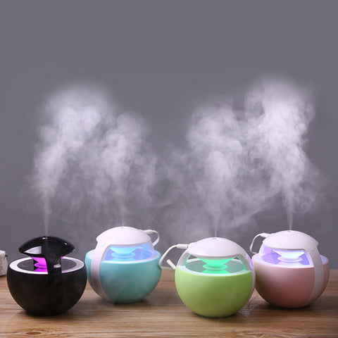 Image of Ball Humidifier With Aroma Lamp Essential Oil Ultrasonic - TR