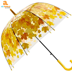 Long Umbrella Maple Leaf - K