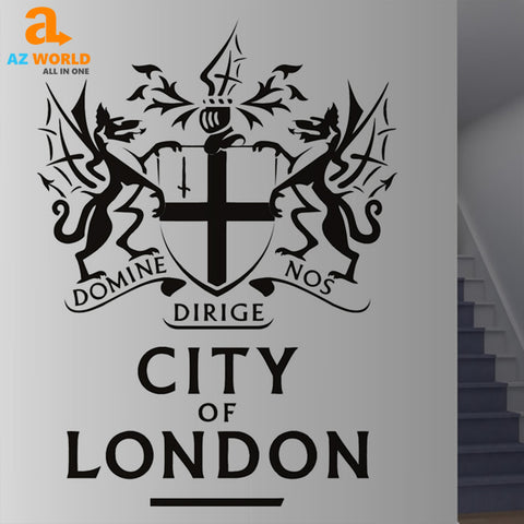Image of City Of London Wall Sticker - K