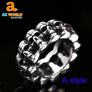 Cycle Skull Ring - TR