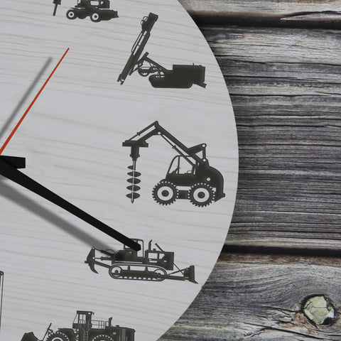 Heavy Wooden Wall Clock