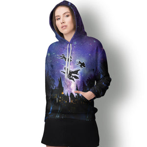 Wizards Galaxy Hoodie