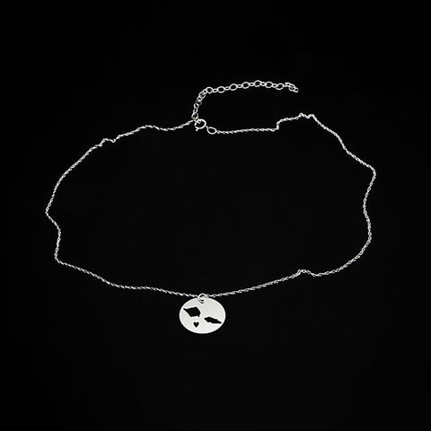 Image of I Love Samoa Necklace And Gift Box - Y7