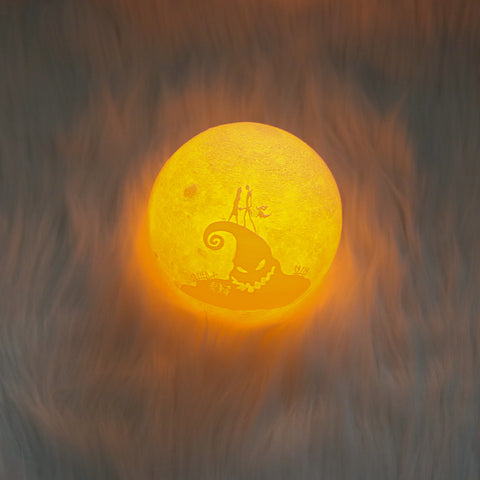 Image of Nightmare Christmas Moon Lamp - Special Product
