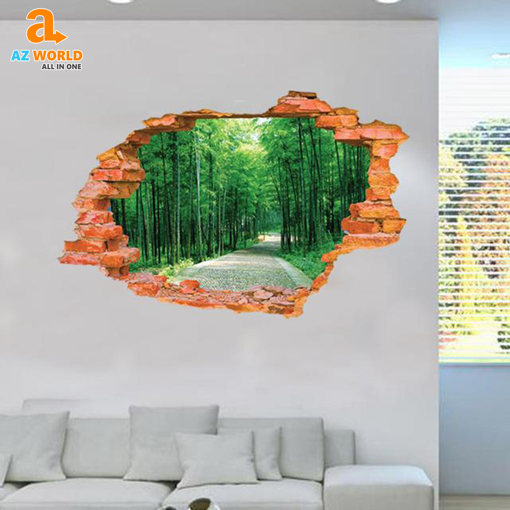 3D Sticker Wall  60*90CM - TR