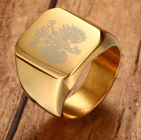 Poland Coat of Arm Ring - M8