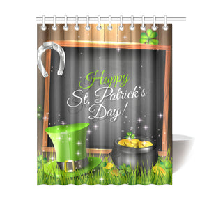 St. Patrick's Day Shower Curtain 02