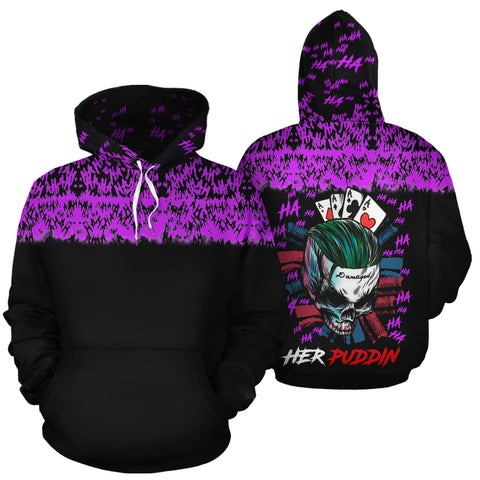 His Quinn Her Puddin Couple Hoodies - Y7