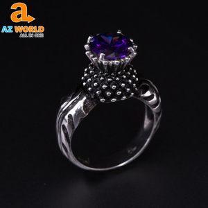 THISTLE FLOWER RING - Exclusive Product