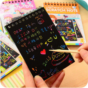 Magic Scratch Art Painting Book Paper - T