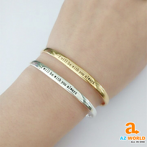 """ I Will Be Always With You "" Bracelet - TH"