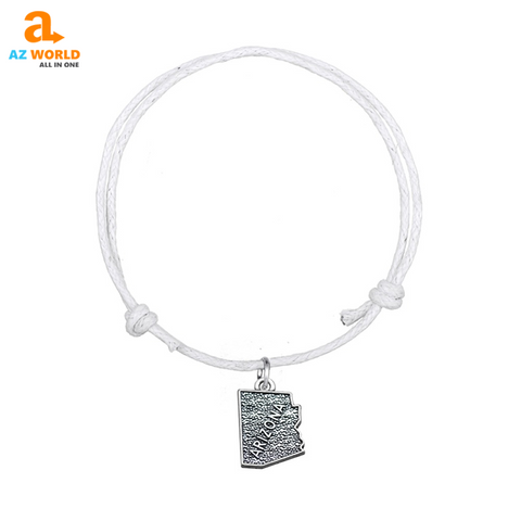 Image of Arizona State Map Bracelet - TH
