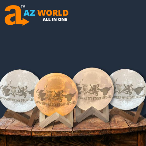 Scotland It's Where Story Begins Moon Lamp - Special Product