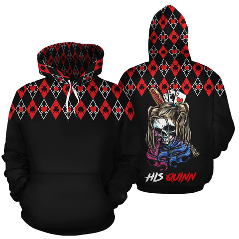 Image of His Quinn Her Puddin Couple Hoodies - Y7