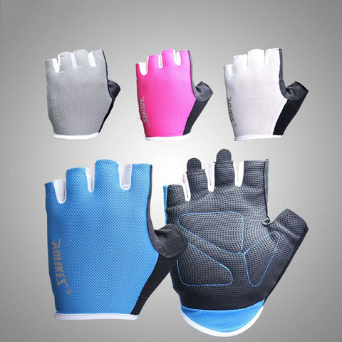 Image of 1 Pair Women/Men Anti-skid Breathable Gym Gloves - T