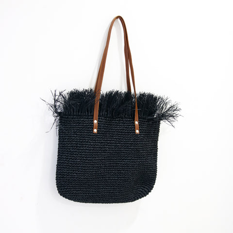 Image of AZ Exclusive Handmade Seagrass Straw Shoulder Bag - LTL003