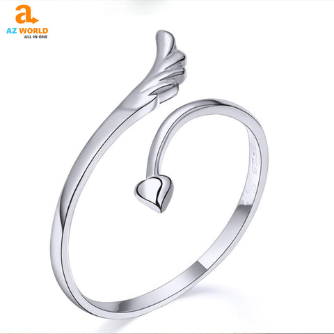 Image of Angel Wings Opening Ring - K