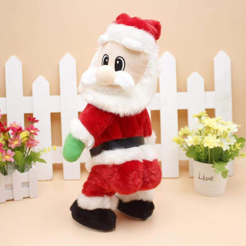 Funny Twisted Hip, Singing and Dancing Santa Toy - Y7